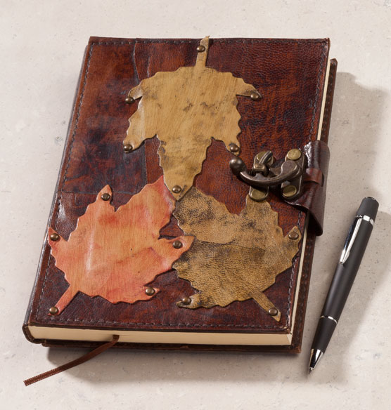 Falling Leaves Journal - View 2