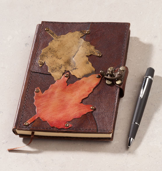 Falling Leaves Journal - View 4