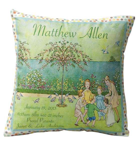 Nostalgic Nursery Pillow - View 2