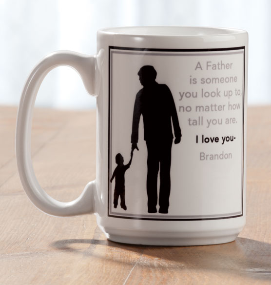 Personalized Father Mug - View 2