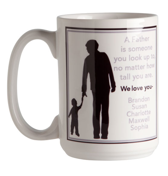Personalized Father Mug - View 3