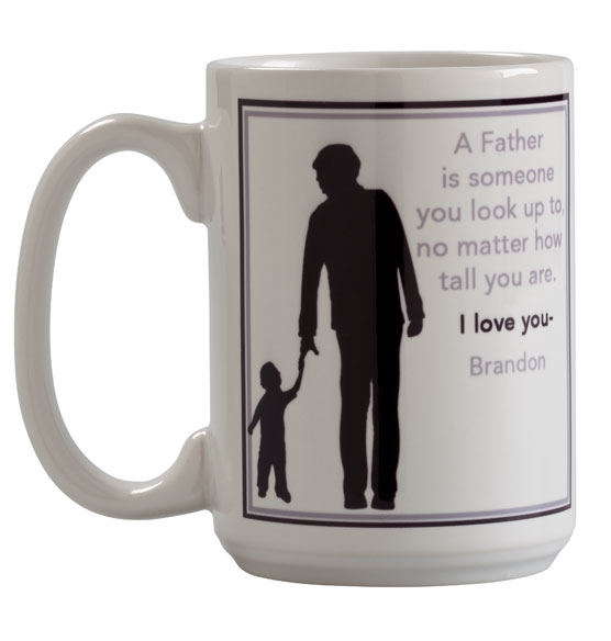 Personalized Father Mug - View 4