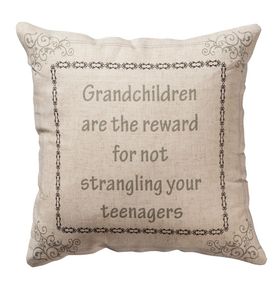 Grandchildren Pillow - View 2