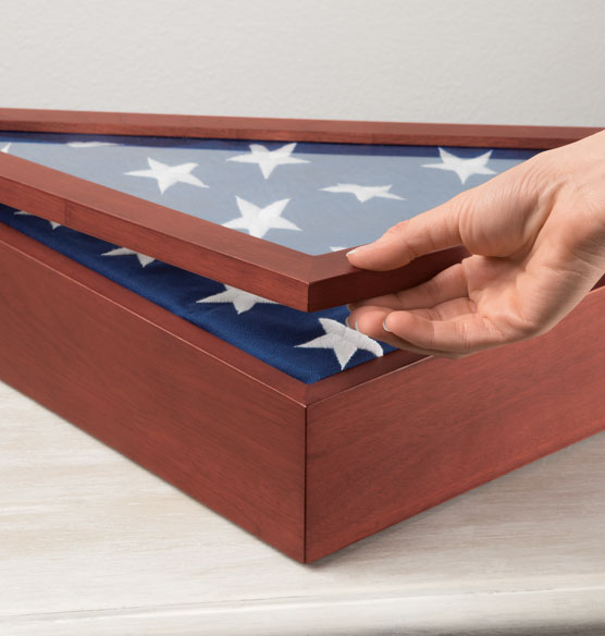 Personalized Veterans Flag Case - View 2
