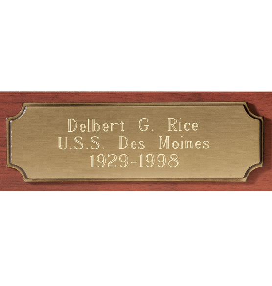 Personalized Veterans Flag Case - View 3