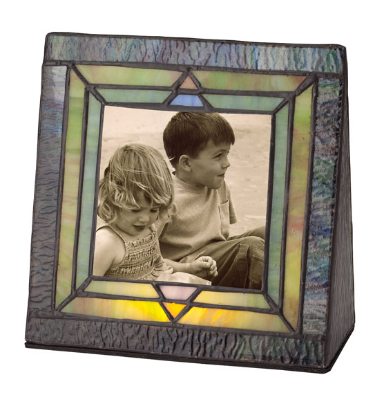 Arts and Crafts Illuminated Photo Frame - View 2