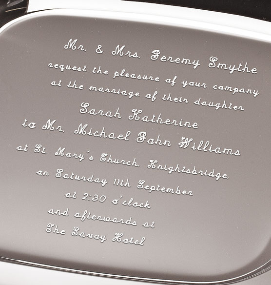 Invitation Tray - View 3
