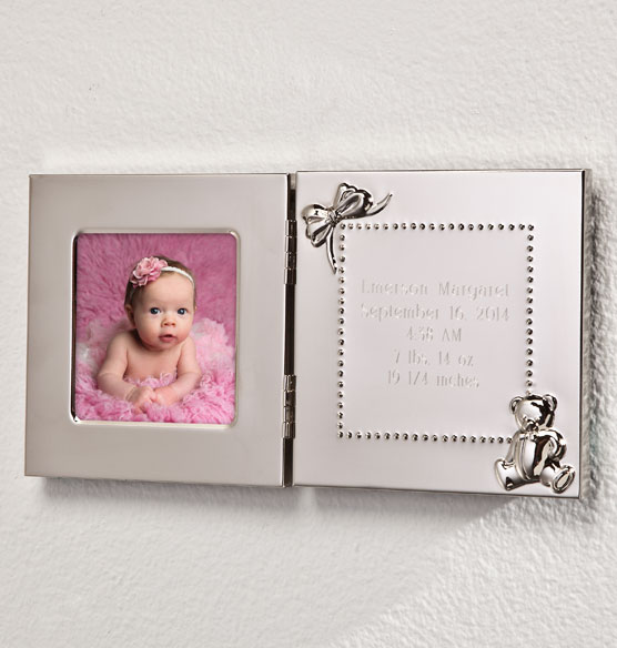 Personalized Baby Announcement Frame - View 2