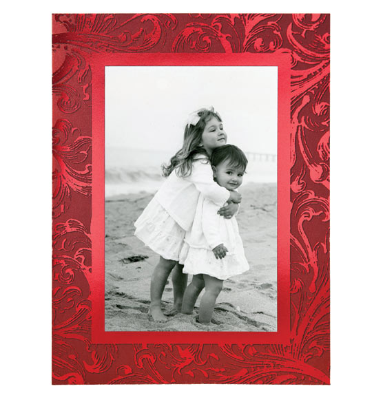 Truly Red Photo Christmas Card Set of 18 - View 5