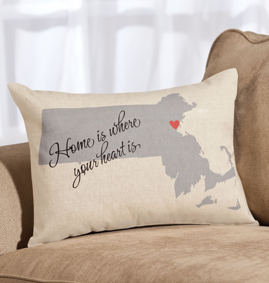 Home State Throw Pillow - View 2