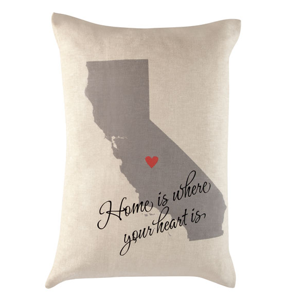 Home State Throw Pillow - View 3