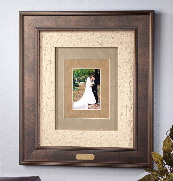 Custom Triple Mat Bronze Frame Picture Frame Photo