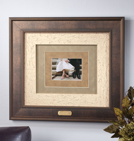 custom triple mat bronze frame picture frame photo frame exposures. Black Bedroom Furniture Sets. Home Design Ideas