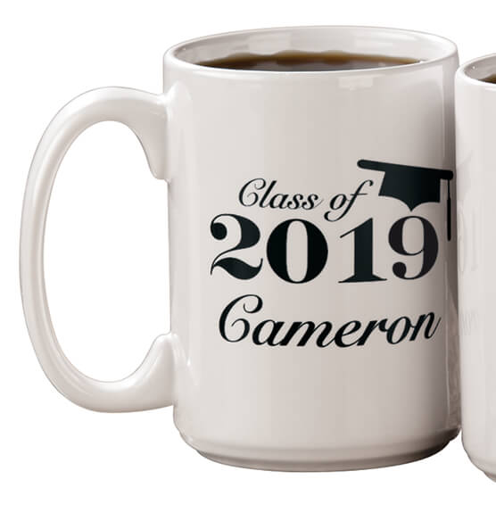 Personalized Any Year Graduation Mug - View 2