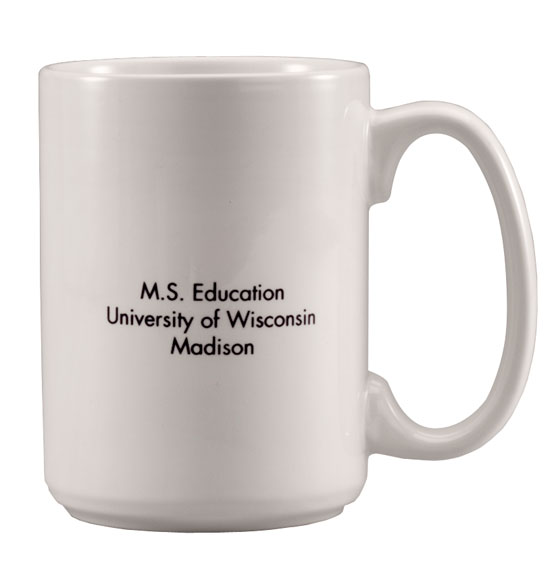 Personalized Any Year Graduation Mug - View 3