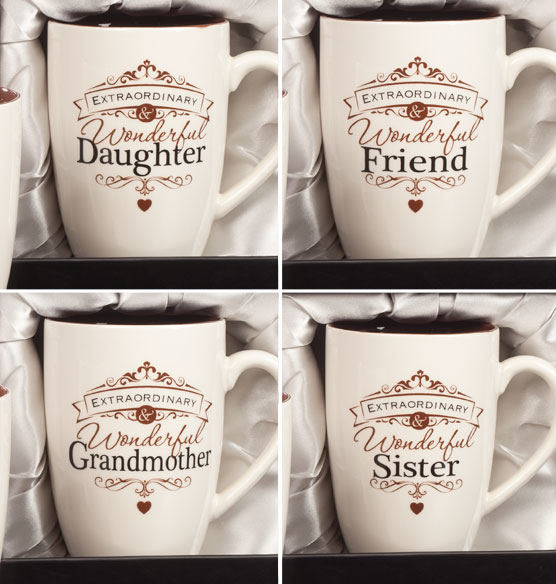 Personalized Insignia Mug for Her - View 4