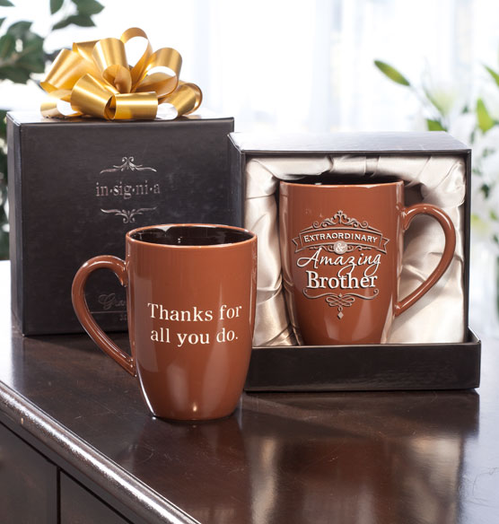 Personalized Insignia Mug for Him - View 2