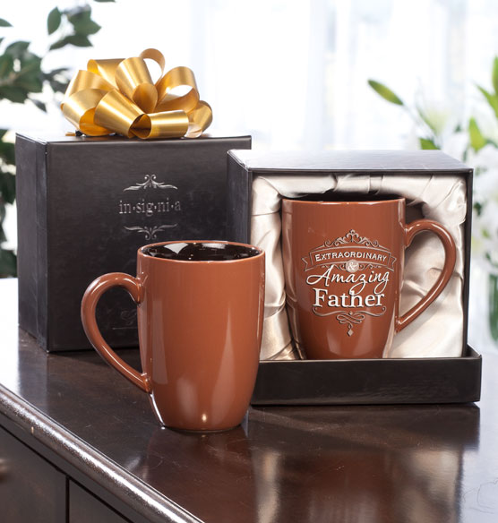 Personalized Insignia Mug for Him - View 3