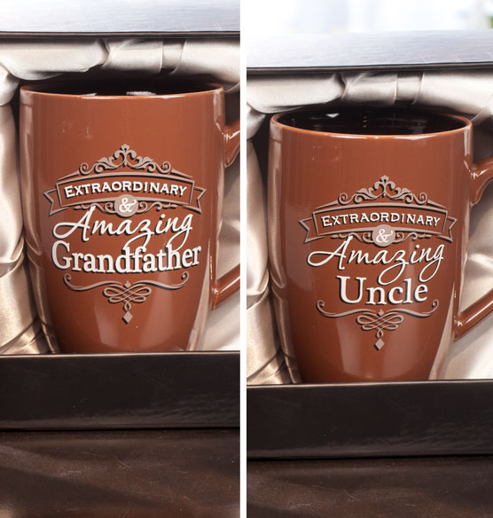 Personalized Insignia Mug for Him - View 5