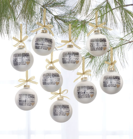 """Greatest in the World"" Ornament - View 2"
