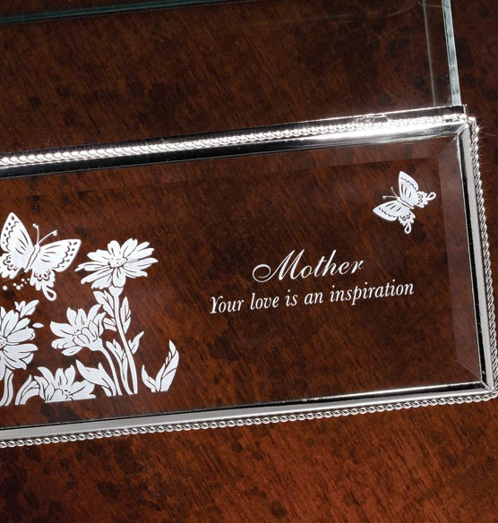 Personalized Glass Memory Box - View 2
