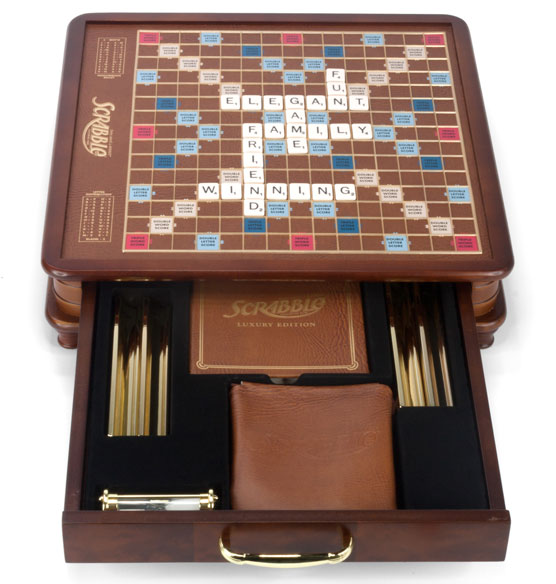 Luxury Edition Scrabble - View 2