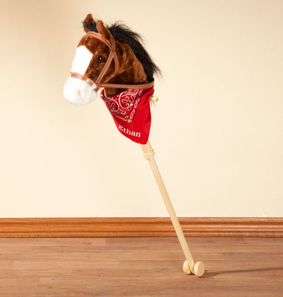 Personalized Hobby Horse with Sound - View 2