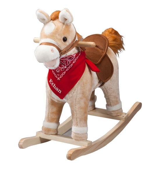 Personalized Animated Rocking Horse with Sound - View 3