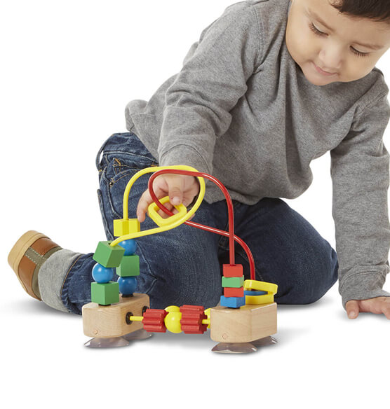 Melissa & Doug® Personalized First Bead Maze - View 2