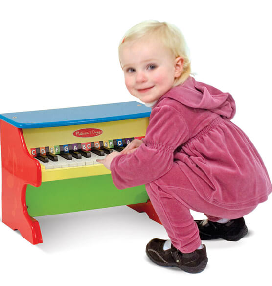 Melissa & Doug® Personalized Upright Piano - View 2