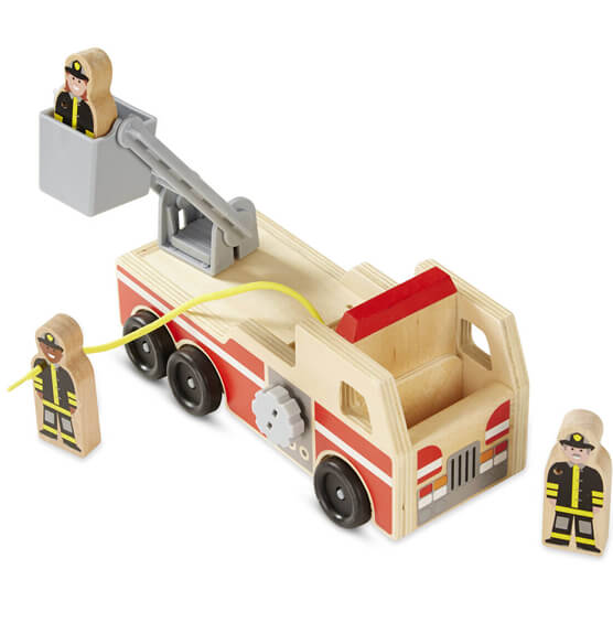 Melissa & Doug® Personalized Fire Truck - View 2