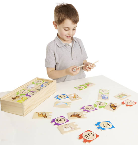 Melissa & Doug® Personalized Letter Puzzles - View 2