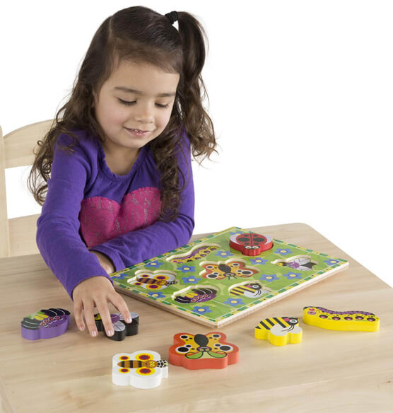 Melissa & Doug® Personalized Insects Chunky Puzzle - View 2