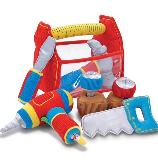 Melissa & Doug® Personalized Toolbox Fill and Spill - View 3
