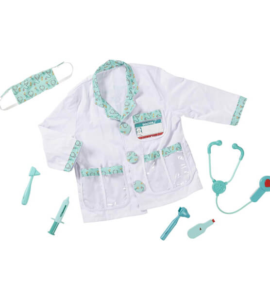 Melissa & Doug® Personalized Doctor Costume Set - View 2