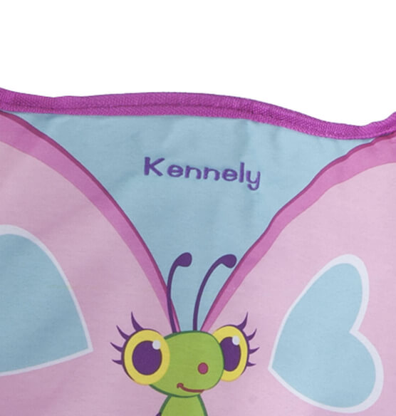 Melissa & Doug® Personalized Cutie Pie Butterfly Camp Chair - View 2