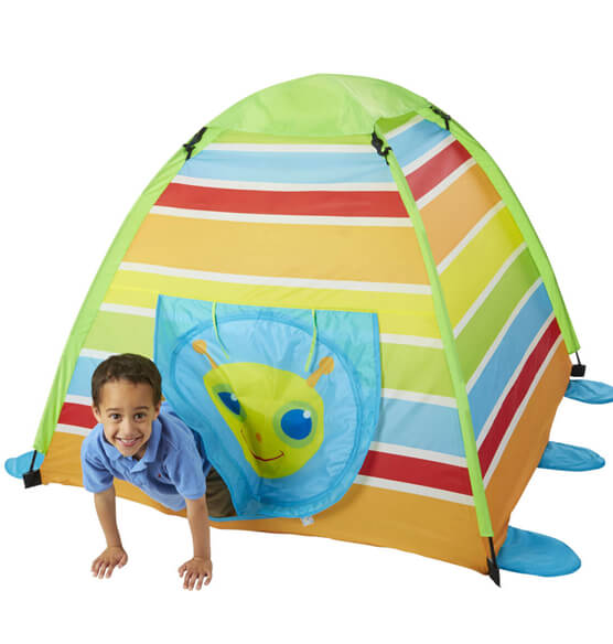 Melissa & Doug® Personalized Giddy Buggy Tent - View 3