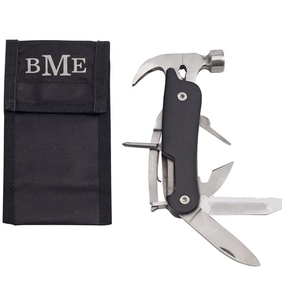 Multi Tool Hammer with Personalized Case - View 2