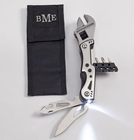 Multi Tool Wrench with Personalized Case - View 2