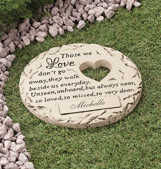 Personalized Those We Love Memorial Stone - View 2