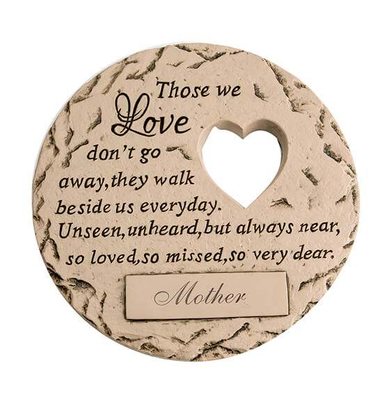 Personalized Those We Love Memorial Stone - View 3
