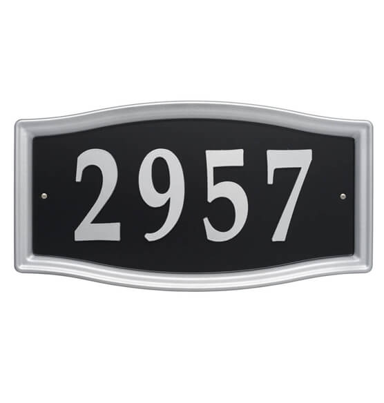 Easy Street Address Sign - View 2