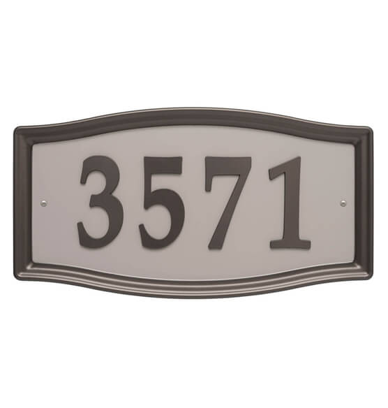 Easy Street Address Sign - View 3