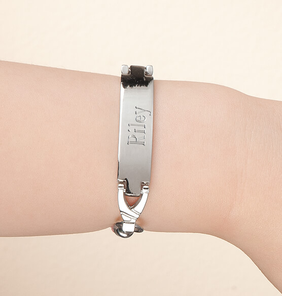Personalized Children's ID Bracelet - View 2