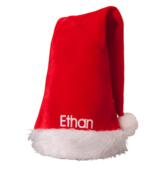 Personalized Santa Hat - View 2