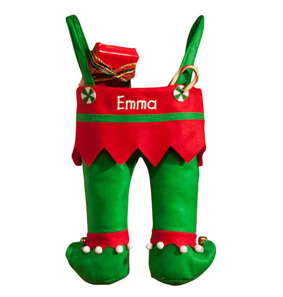 Personalized Elf Pants Stocking - View 2