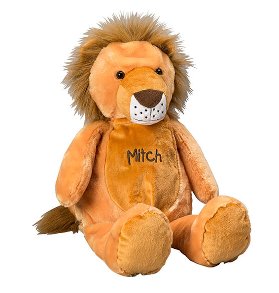 Personalized Stuffed Lion - View 2