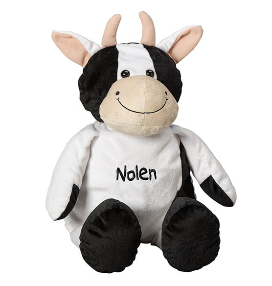 Personalized Stuffed Cow - View 2