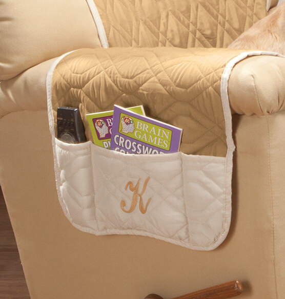 Personalized 5 Star Reversible Waterproof Recliner Cover - View 3