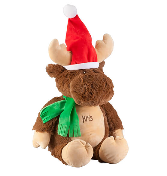 Personalized Christmas Moose - View 2